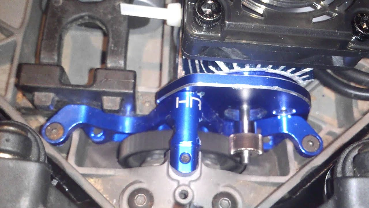 Slash 4x4 gear mesh check Steel Pinion