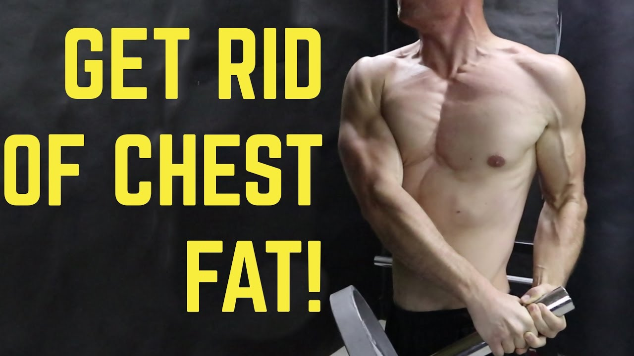 How to get rid of chest fat and build muscle