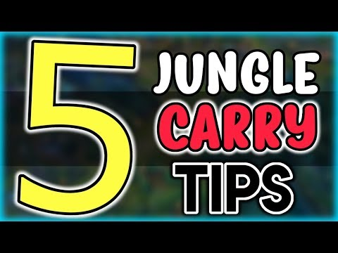 How To Carry as a Jungler - 5 PRO Jungle Tips for Carrying in Low Elo - League of Legends