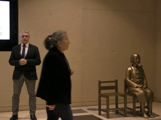 """Vernissage """"Mädchenstatue für den Frieden"""" - Komplette Veranstaltung"""