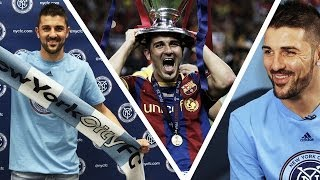 """His determination to win is what won me over"" - Claudio Reyna on David Villa"