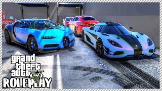 GTA 5 ROLEPLAY - Selling Cars at Redline Garage | Ep. 423 Civ
