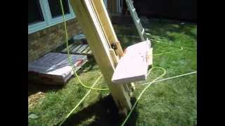 Home built roofing shingle lift
