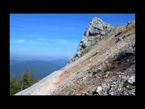 Rakousko, okolí Schneebergu a Neziderské jezero