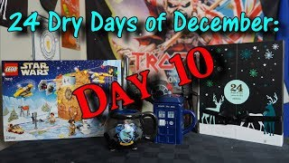 24 Dry Days of December - Day 10 - Nutty and Spice and a Lego Canon