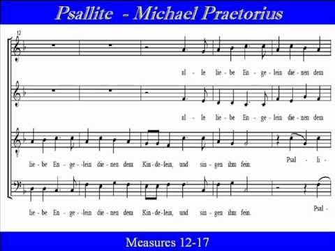 Psallite-Praetorius-Soprano-Singt Und Klingt.wmv