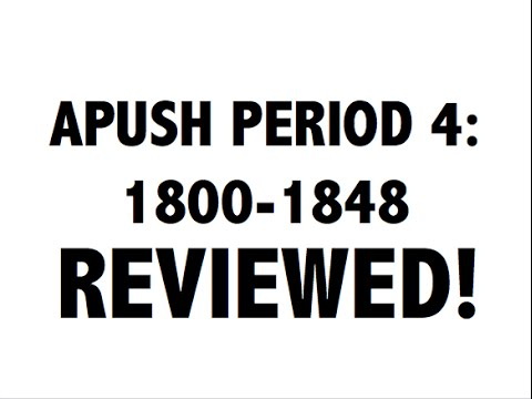 APUSH Period 4: Ultimate Guide To Period 4 APUSH