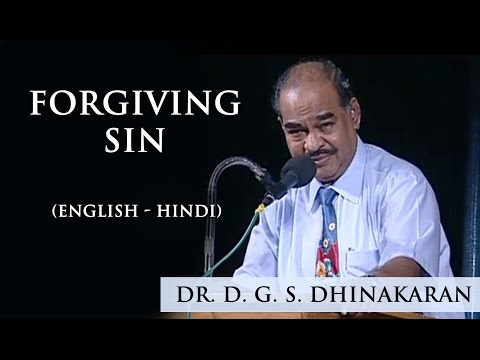 Forgiving Sin (English - Hindi) | Dr. D.G.S. Dhinakaran