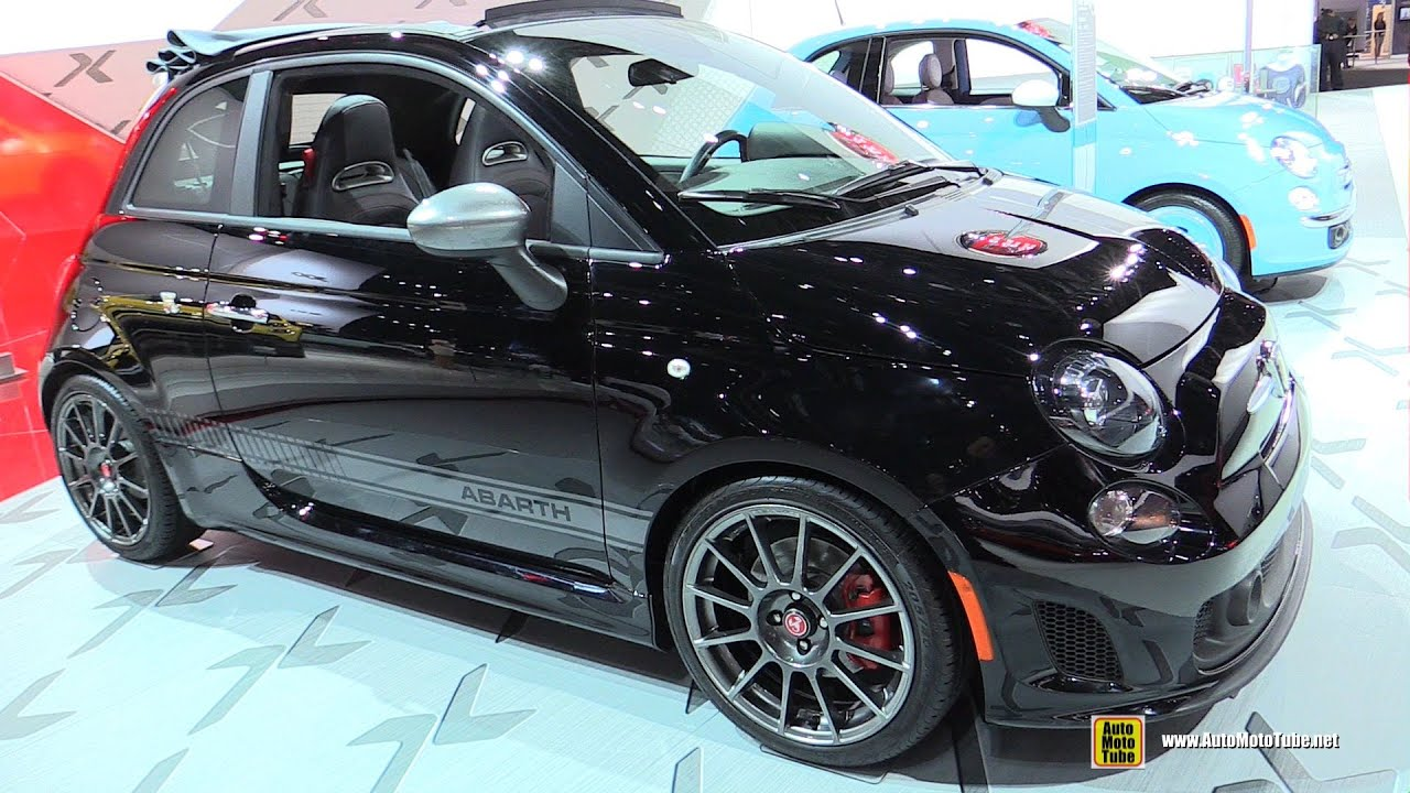 2015 Fiat 500 Abarth Convertible - Exterior and Interior Walkaround