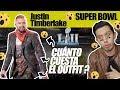 Justin Timberlake , cuánto cuesta el outfit del super bowl?