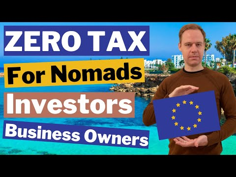 Cyprus Lowest Tax in Europe for Digital Nomads & Investors