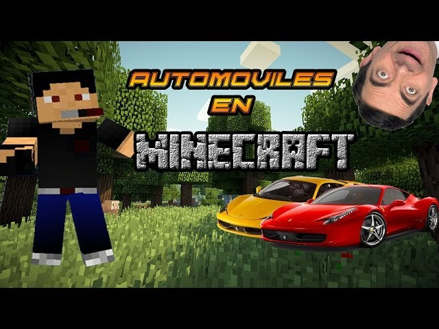Automoviles en Minecraft! Review en Español Cars and Drives Mod para Minecraft 1.6.4 Videos De Viajes