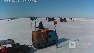 10 апреля 2021г Рыбалка на ОВХ между Быстровкой и Боровым