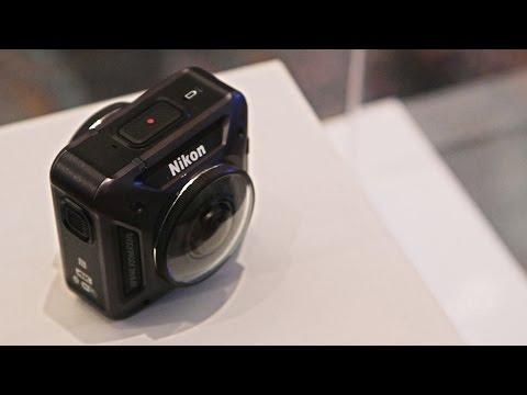Nikon announces a 360-degree action camera