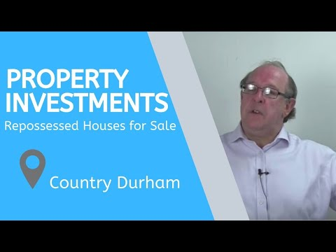 Property Investments in County Durham – Repossessed Houses for Sale County Durham