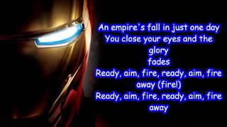Ready, Aim, Fire Imagine Dragons Lyrics