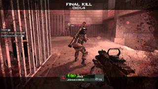 Call of Duty - Modern Warfare 3: skilled enemy in killcam
