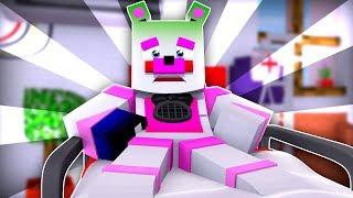 Funtime Freddy Gets The Flu ?!   Minecraft FNAF Roleplay