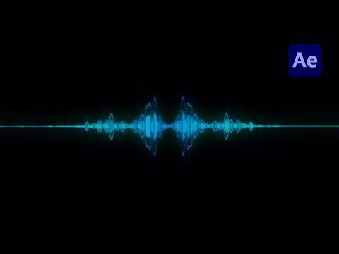 after effects audio spectrum tutorial youtube. Black Bedroom Furniture Sets. Home Design Ideas