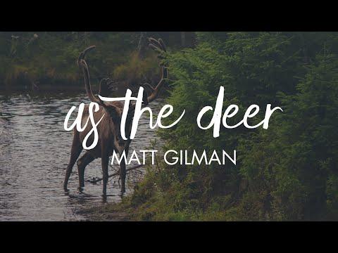 As The Deer - Matt Gilman // Letras