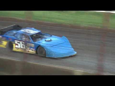 21st Annual Liberty 100 IMCA Late Model Last Chance Race 2 West Liberty Raceway 9/23/17