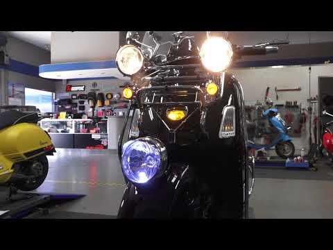 Black 'n Chrome Custom Vespa GTV