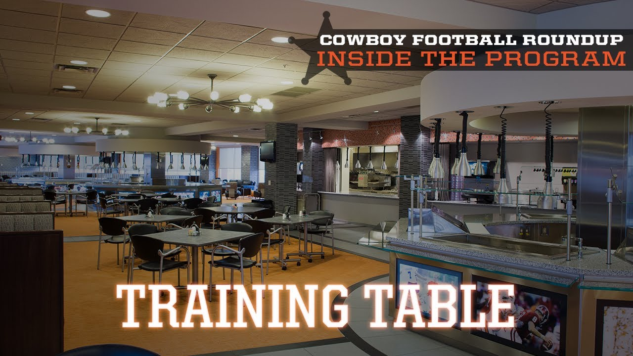 Inside The Program Training Table YouTube - Training table restaurant