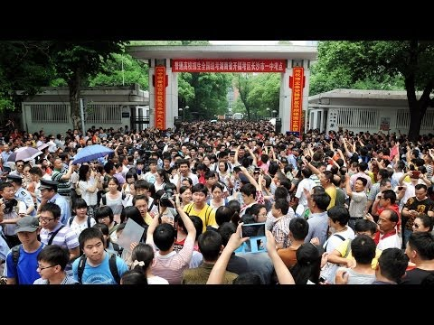 Cheating in the Chinese National College Entrance Exams (LinkAsia 6/20/14)