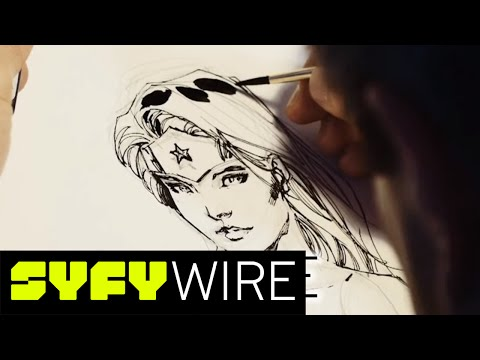 Wonder Woman Sketch by DC Comics Co-Publisher and Artist Jim Lee | SYFY WIRE