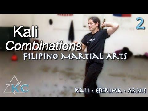 ESCRIMA STICK TECHNIQUES - Kali Stick Fighting, Arnis drills