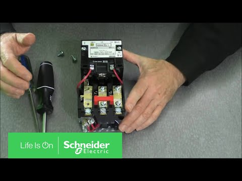 Installing Thermal Units & Auxiliary Contacts on NEMA Type S Starters | Schneider Electric Support