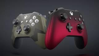 Xbox Design Lab - Nuevas opciones Camo y Shadow