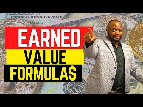 Earned Value Management Formulas in  5 Minutes! & EVM QUIZ!