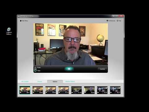 Recording your Video using the Logitech Webcam Software