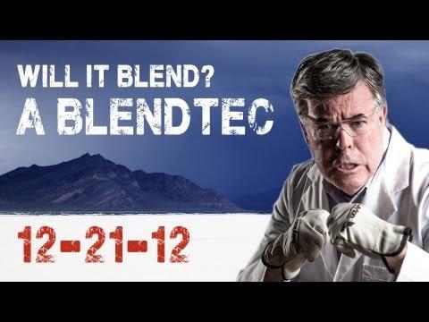 Will it Blend? Blendtec Blender. Will it End?