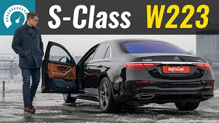Вся ПРАВДА про S-Class! ПЕРВЫЙ тест Mercedes W223 S500 4matic