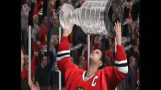 NHL 10 Chicago Blackhawks 2010 Stanley Cup