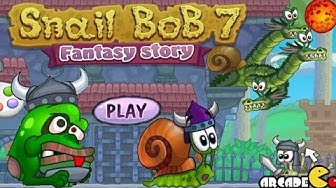 Snail Bob 7: Fantasy Story Walkthrough All Levels 3 Stars