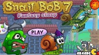 Snail Bob 7: Fantasy Story Walkthrough All Levels 3 Stars