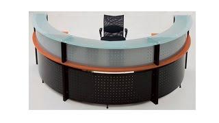 Glass Top Reception Desks Assembly Video