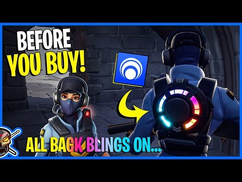 *NEW* WAYPOINT OUTFIT & Reactive Back Bling TEST - Hyper Glider - *BEFORE YOU BUY* - Fortnite