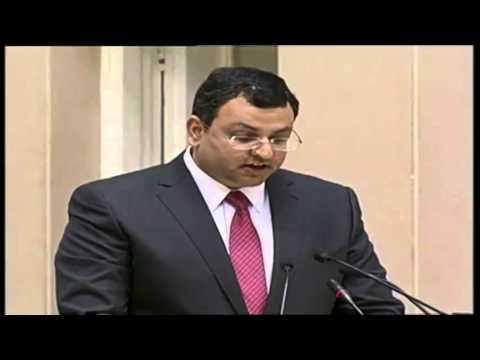 "Shri Cyrus P. Mistry, Chairman, Tata Group addressing at ""Make in India"" global initiative"