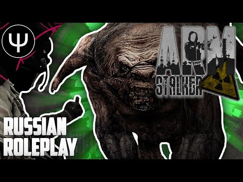 ARMA 3: ArmSTALKER Roleplay Mod — First Look — Russian Roleplay!