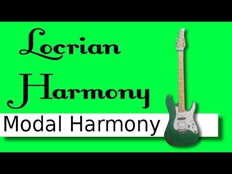 Locrian - Modal harmony 7
