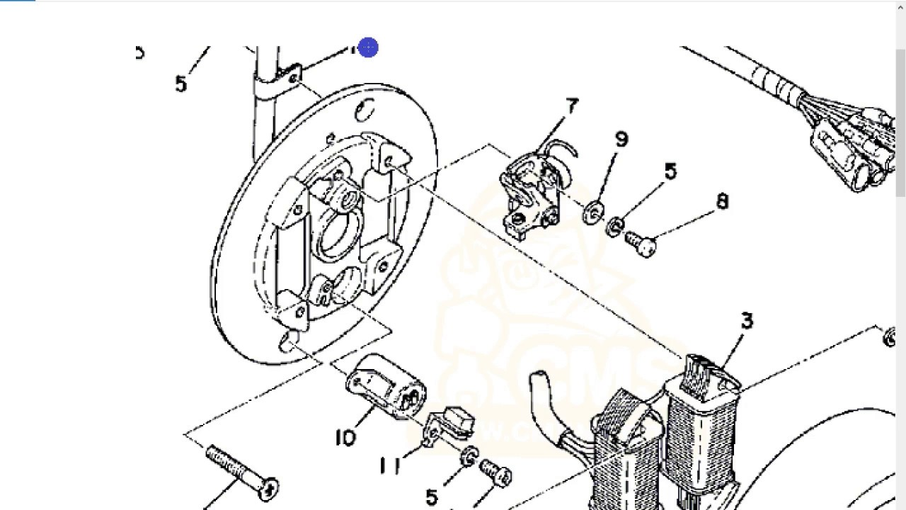 Small engine ignition, 2 and 4 stroke, module and points