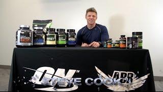 Strength Gaining Program - Optimum Nutrition Supplements