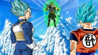 Dragon ball super movie revealed Super Saiyan blue Goku and Vegeta!!!