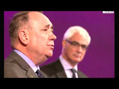 Scottish independence  Leaders face off in TV debate