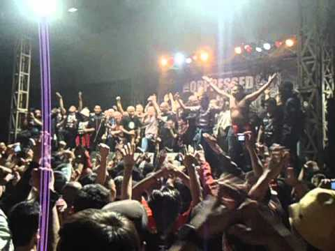 The Oppressed - Antifa Hooligan ( Live in Jakarta)