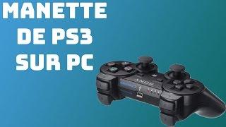COMMENT UTILISER SA MANETTE DE PS3 SUR SON PC | 2017